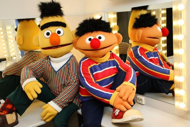 Bert en Ernie boeken
