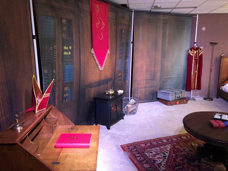 Werkkamer van Sinterklaas inrichten
