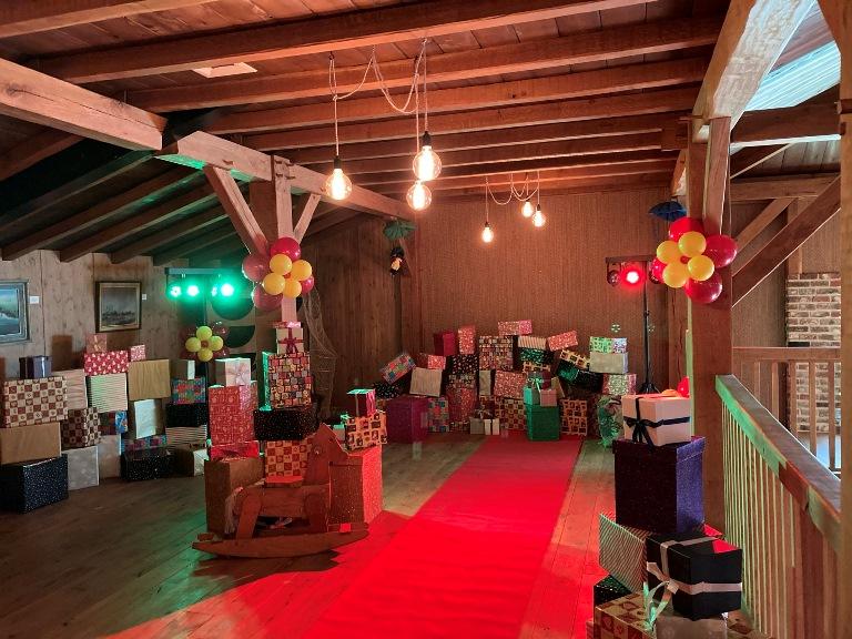 Huis van Sinterklaas inrichten