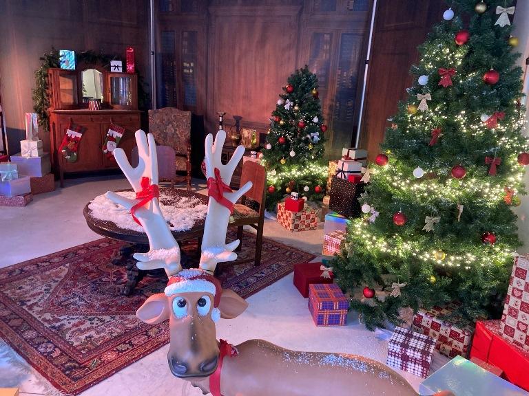Huis van de Kerstman maken