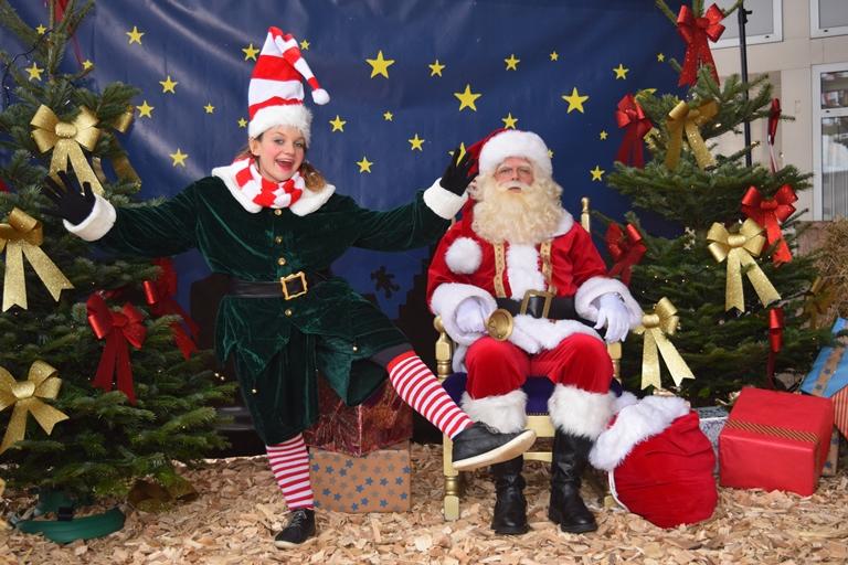 Meet en greet met Kerstman