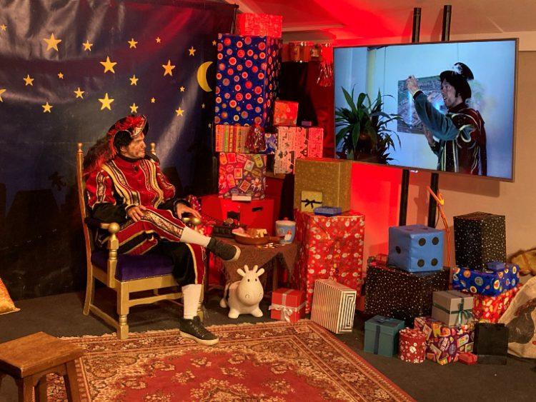 Sinterklaas feest online