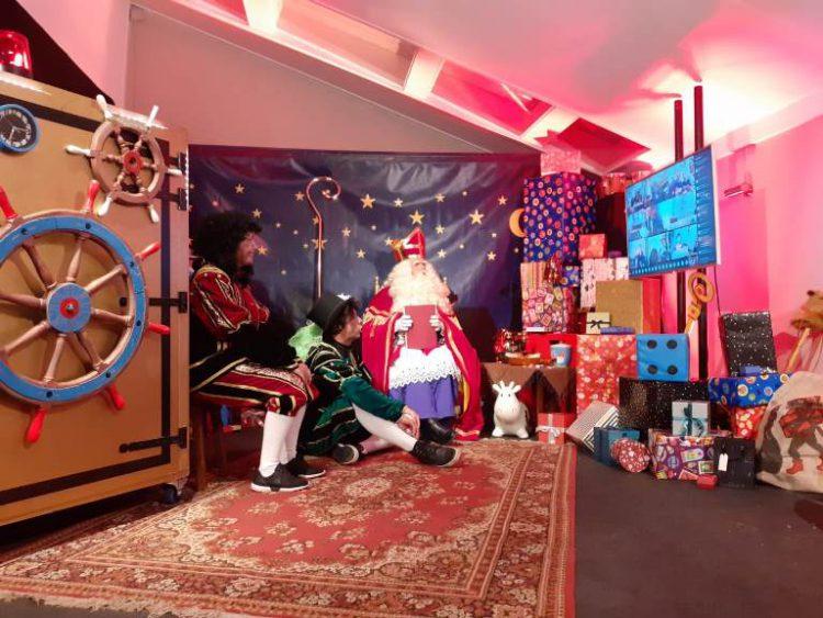 Online Sinterklaas feest