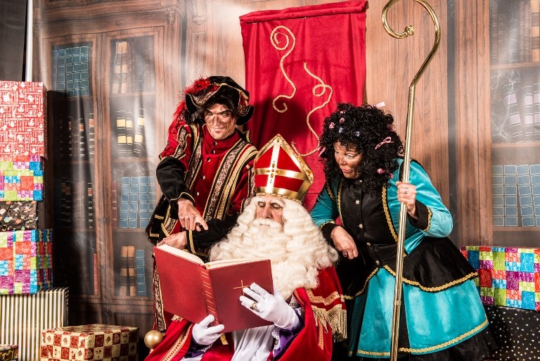 Sinterklaas op bezoek