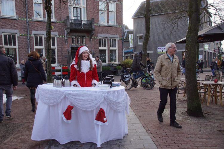 Walking Table Kerst