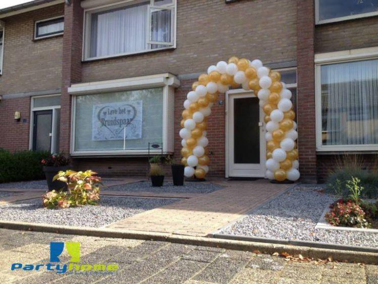 ballonnenboog voor bedrijfsfeest