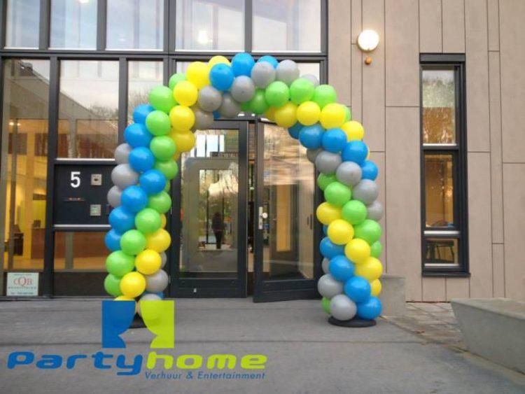 ballonnenboog voor opening