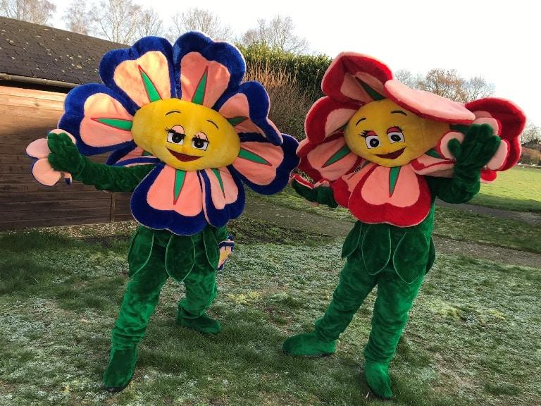 bloem mascotte huren