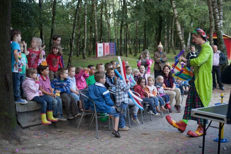 kinderfeestje met clown
