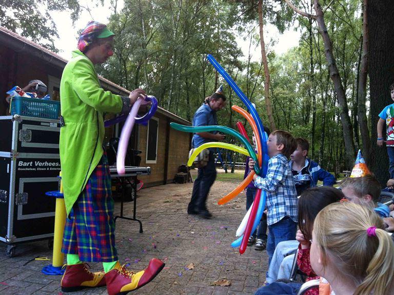 clown huren voor verjaardagsfeestje