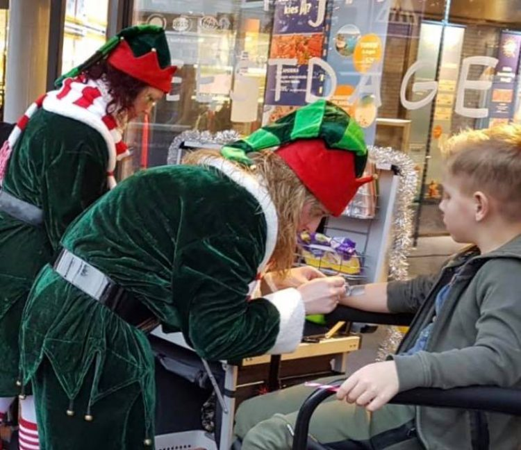 schminkstand Kerst elfjes