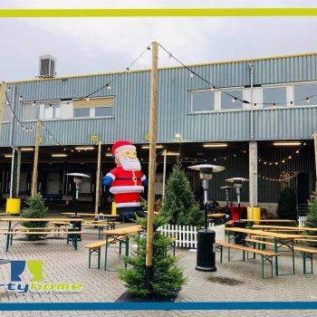 Kerstborrel DHL