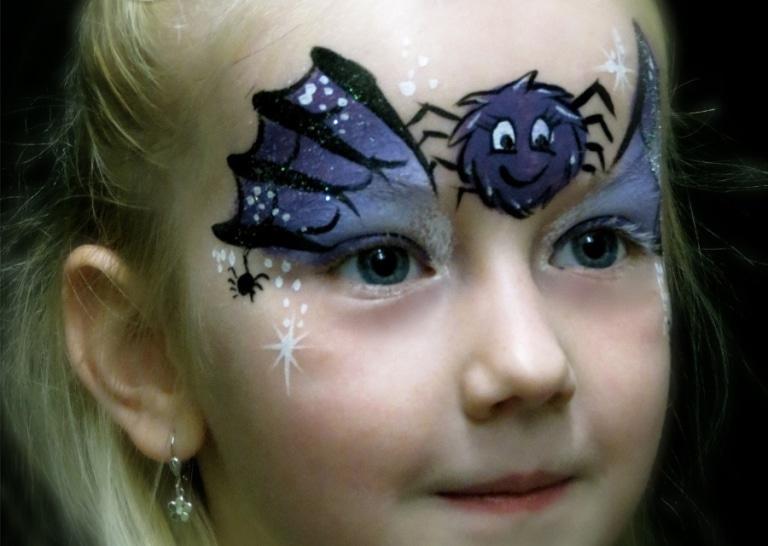 Halloween kinderschminken