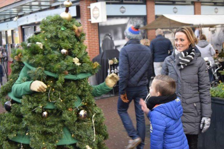 rondlopende Kerstboom