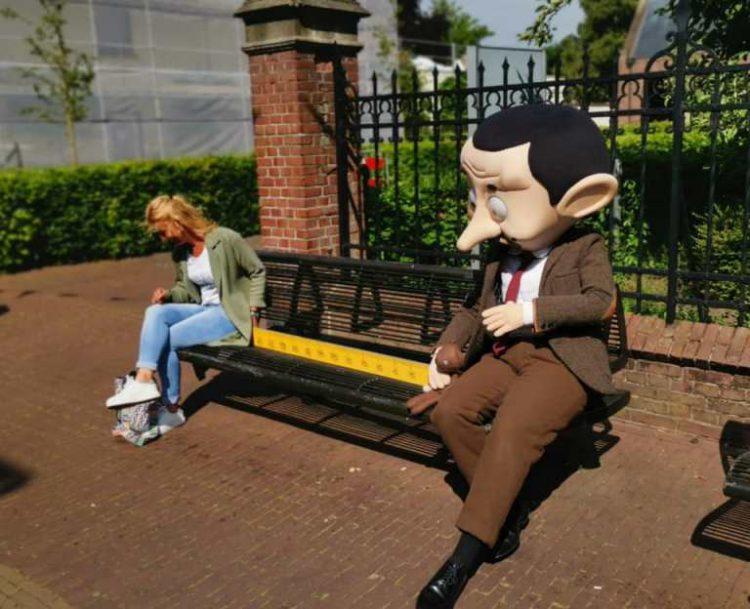 Mr. Bean in winkelcentrum