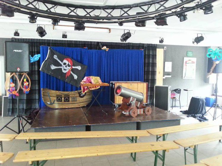 Piraat met kindershow